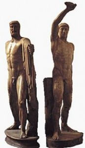 Statues of Harmodios and Aristogeiton