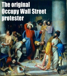 Jesus as the 'Original Wall Street protester'