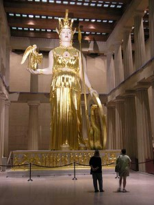 Reconstruction: Athena Parthenos statue
