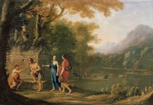 Laurent de la Hyre, The Arcadian Shepherds