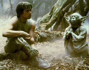 Yoda and Luke Skywalker