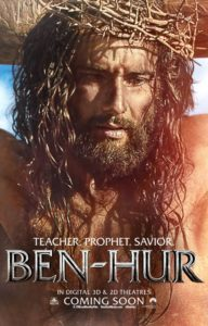 Ben Hur (2016). Jesus - more iconographic, this time.